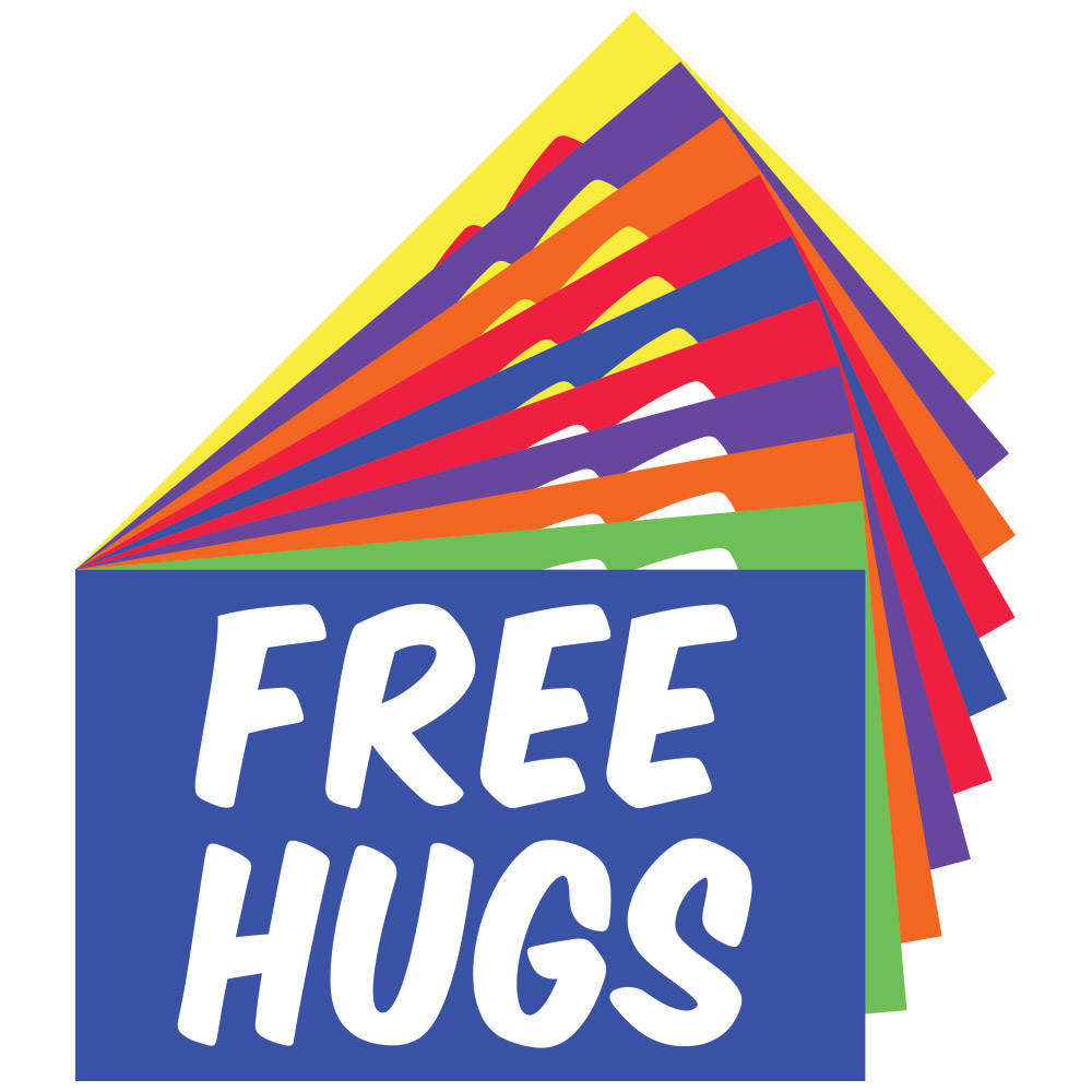 Supplies for Free Hugs