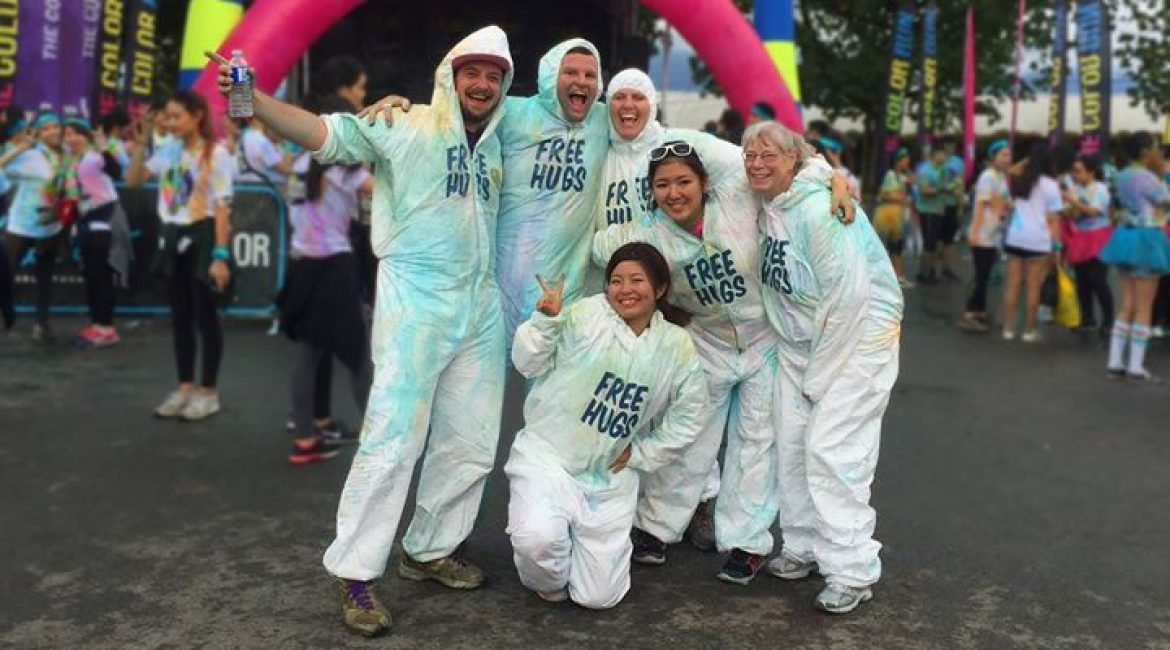 Color Run Free Hugs (Vancouver, BC)