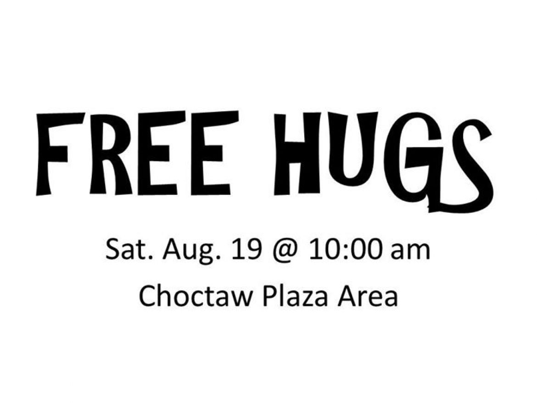 Free Hugs (Choctaw, OK)